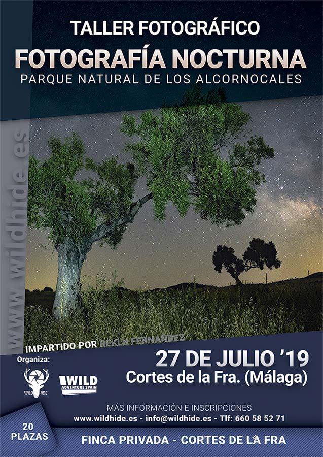 Taller Fotografía Nocturna Parque Los Alcornocales